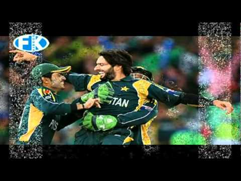 ICC WORLDCUP OFFICIAL PASHTO SONG-PA TEAM KI DA CRICKET YO AFRIDI-NAZIA IQBAL.