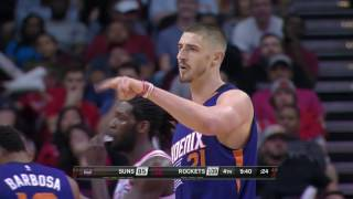 Alex Len ( Олексій Лень Phoenix Suns vs Houston Rockets 26.12.2016)