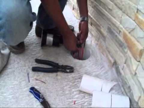 Instalacion lamparas de piso 12 youtube - Como instalar lamparas led ...