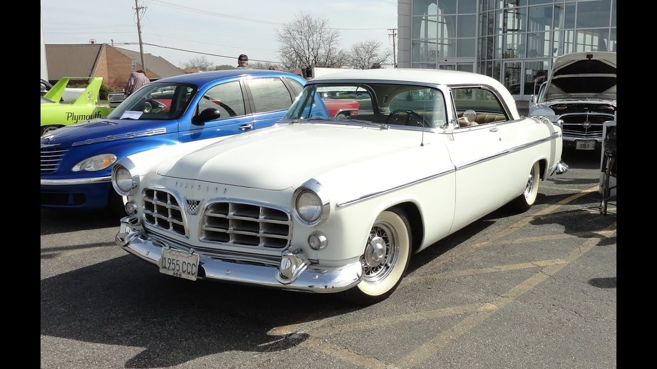 White Chrysler 300 >> 1955 Chrysler C-300 in Platinum White Paint on My Car Story with Lou Costabile - YouTube