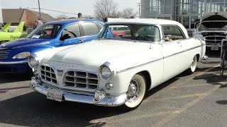 1955 Chrysler C-300 in Platinum White Paint on My Car Story with Lou Costabile