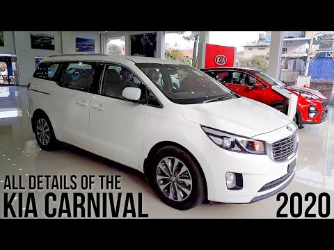 2020-kia-carnival-detailed-walkaround,-price-in-india,-launch-date,-features,-interior,-engine-hindi