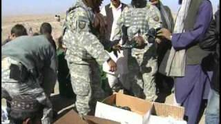 USFOR-A Det West Humanitarian Assistance to Kuchi Village