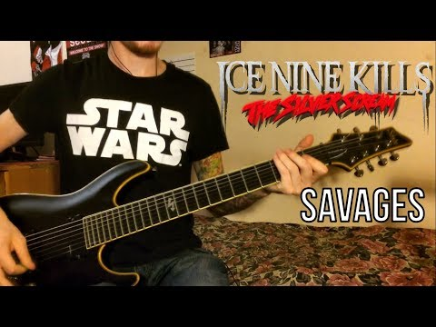 Ice Nine Kills | SAVAGES | Guitar cover (New Song 2018)