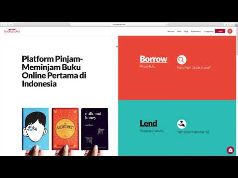 HOW BOOKABUKU WORKS | INDONESIA'S ONLINE BOOK SHARING PLATFORM