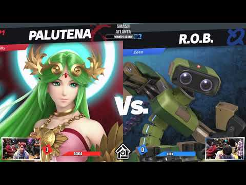 Smash Atlanta Arcadian 2019 - Dongo(Palutena) VS Eden(R.O.B.) - W. Round 3