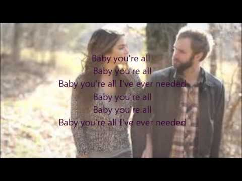 All I've Ever Needed lyrics-Paul Mcdonald (Ft. Nikki Reed)