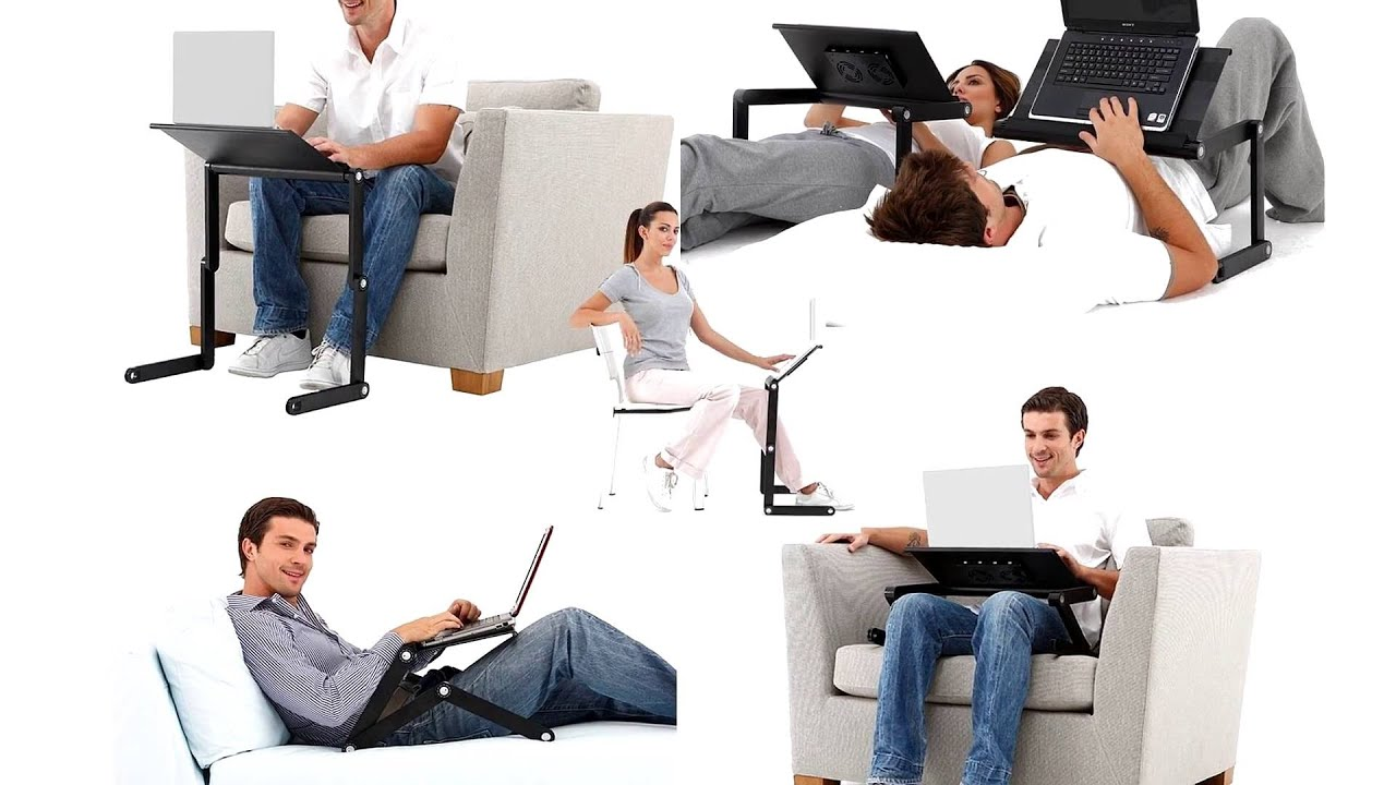 Portable Computer / Laptop Desk For Bed Or Couch By Desk York