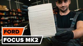 Πώς αντικαθιστούμε φίλτρο καμπίνας σε FORD FOCUS MK2 [ΟΔΗΓΊΕΣ AUTODOC]