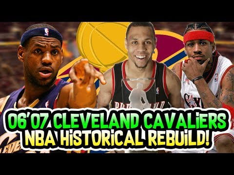 LEBRON JAMES FIRST SUPER TEAM?! 2006-2007 CLEVELAND CAVALIERS REBUILD! NBA 2K18 MY LEAGUE