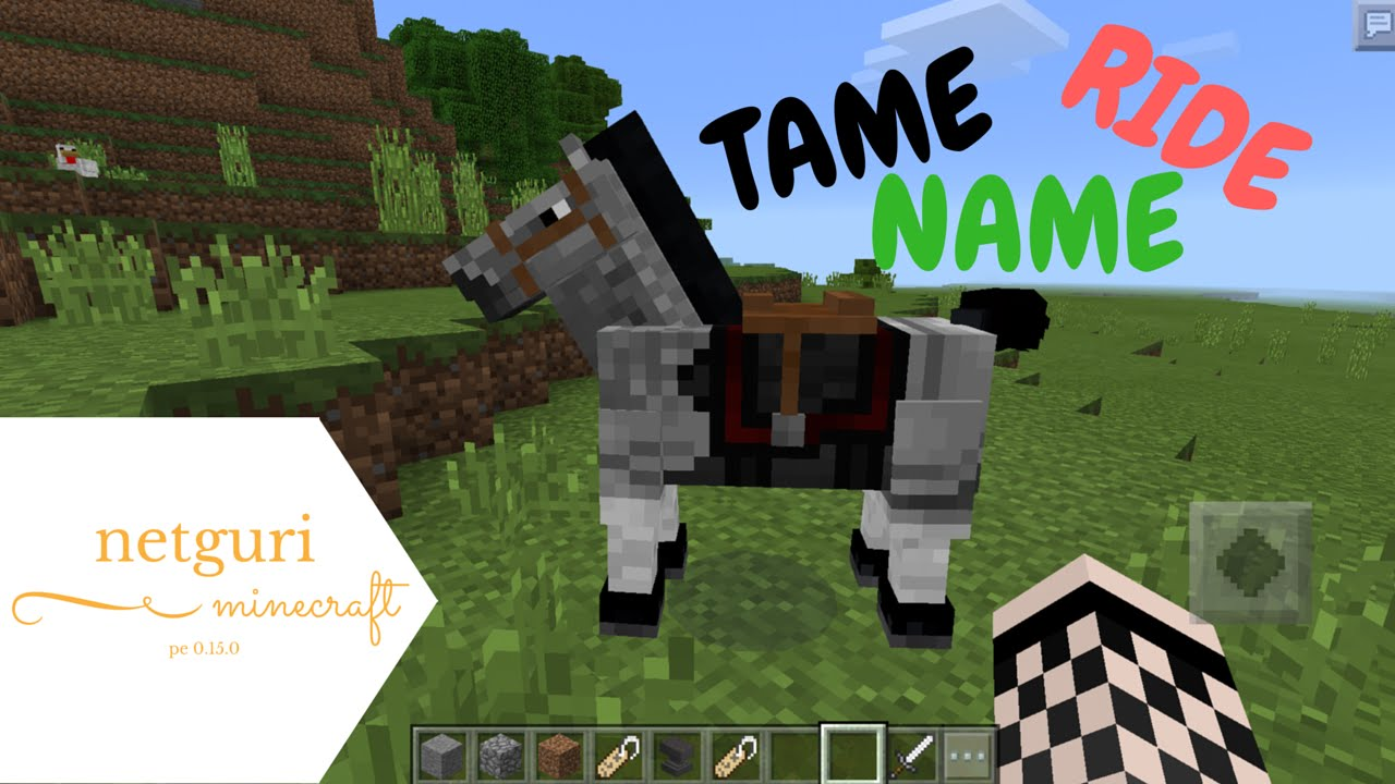 how to ride a spider in minecraft pe