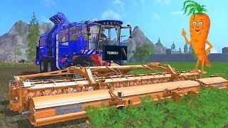 Мультики про #машинки для детей - Сбор урожая Синий #трактор| Развивающие мультфильмы 2018 года