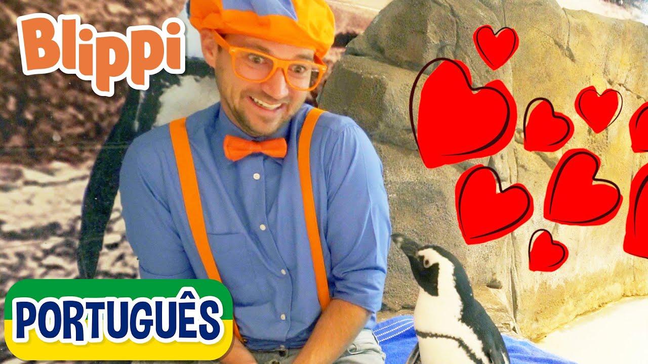 Blippi Visita um Aquário (Ody Aquarium)   Vídeos Educativos para Crianças   As Aventuras de Blippi