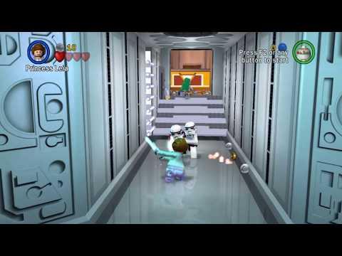 Jedi princess leia (lego star wars the complete saga mod) |