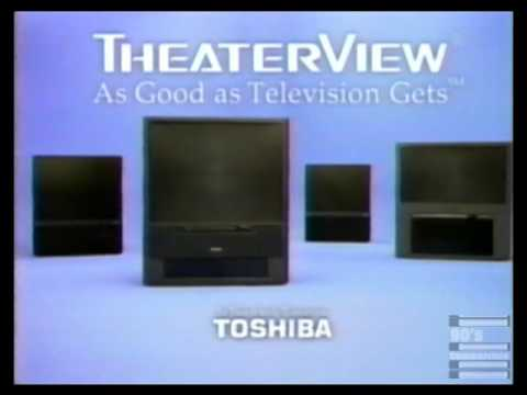 Toshiba Theater View TV Commercial 1997