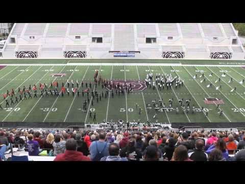 Willard High School Marching Band Cutting Edge Ozarko 2015 Preliminary Performance