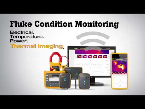Fluke Condition Monitoring | Now with Thermal Imaging!