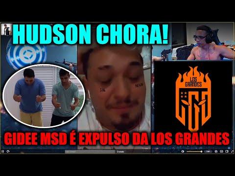 HUDSON AMORIM REAGINDO