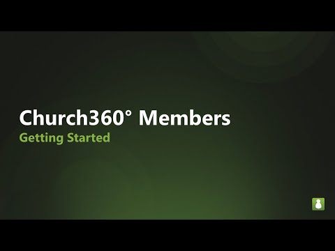 Church360: M1 Getting Started
