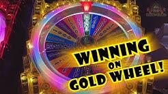 AWESOME BONUS! - Winning on Gold Wheel! - Slots #21 - Inside the Casino