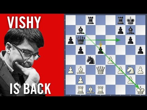 Vishy is Back - Hansen vs Anand | Chess Olympiad 2018 Batumi