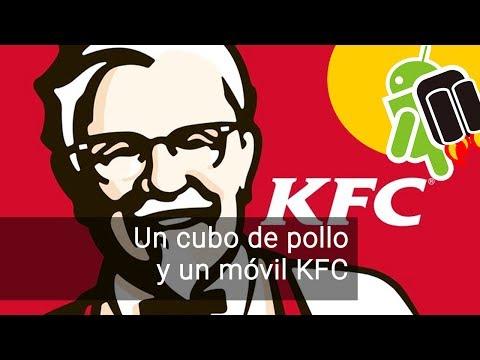 KFC presenta un móvil en China