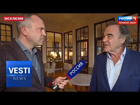 Oliver Stone Opens Up About New Project! Upcoming Film Tackles the Difficult Situation in Ukraine!