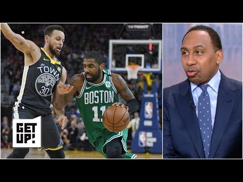 Fans want to see Kyrie Irving 'dance as if he is in an And-1 commercial' – Stephen A. | Get Up!