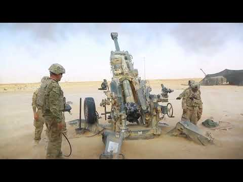 U.S. Army Field Artillery Conducts Strikes Against ISIS