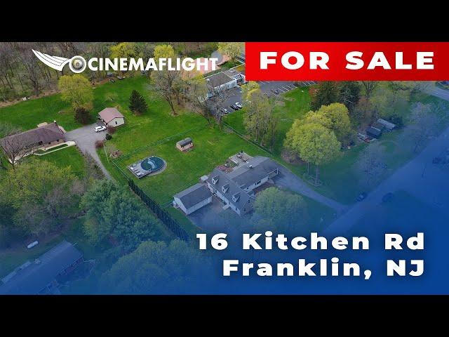Cinemaflight Property Tours   16 Kitchen Rd, Franklin, NJ