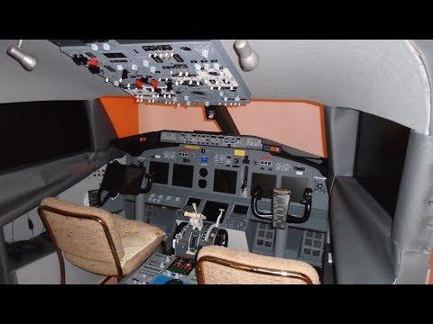 Building a Boeing 737 Cockpit