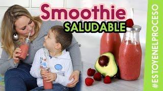 Healthy FRUIT SMOOTHIE #hEALTHYsNACKS