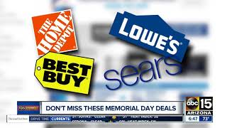 Memorial Day shopping deals not to miss