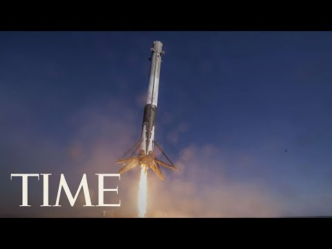 SpaceX Launches First Rocket For NASA: Watch As Falcon 9 Launches Towards Space | TIME