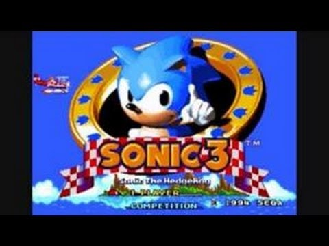 Classic Sega Game Sonic The Hedgehog 3 On Ps3 In Hd 720p