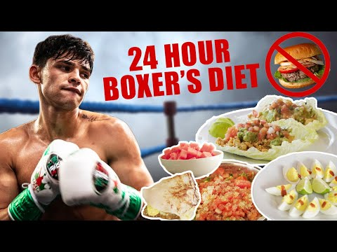 What A Professional Boxer Eats In A Day | Ryan Garcia Vlogs