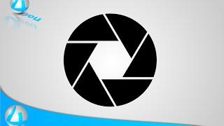 Tutorial :How to Create Shutter Icon (Illustrator CC)