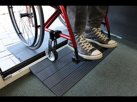 Door Threshold R& quick2go & Door Threshold Ramp quick2go - YouTube