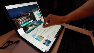 CES 2020 #2: Laptop ze składanym ekranem, koncept OnePlusa i pies robot (podróba)