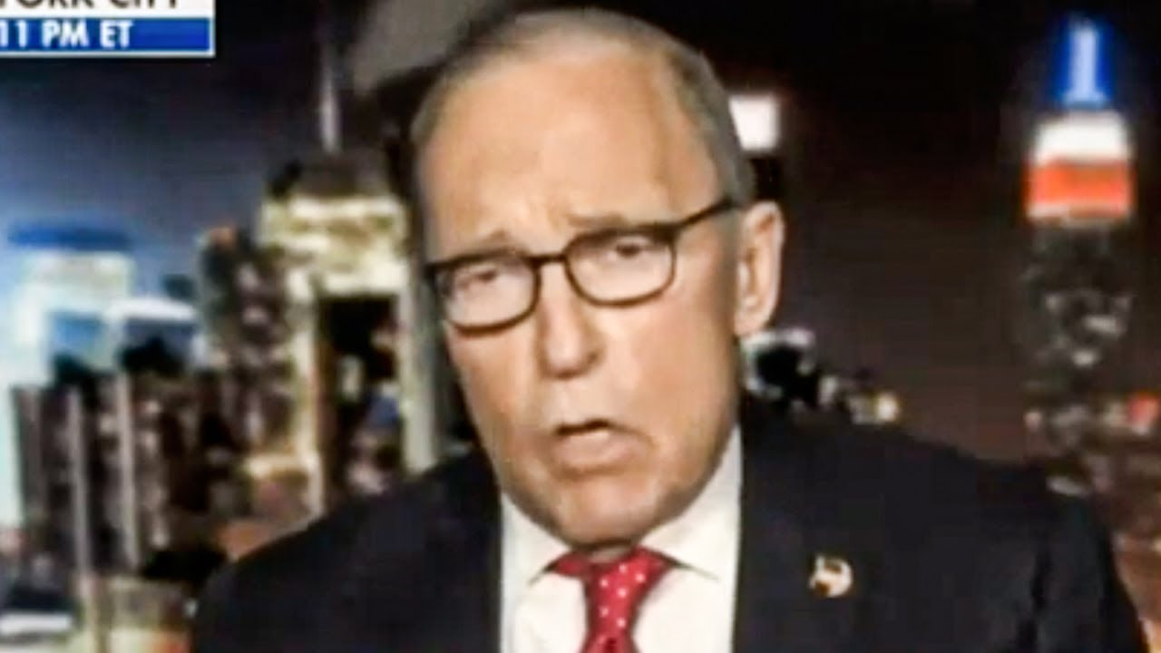 Larry Kudlow Proves He Doesn't Understand How Taxes Work