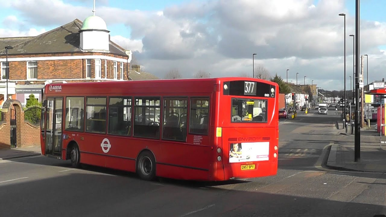 Buses in and around enfield bus garage 15th feb 2016 youtube for Garage ad buc