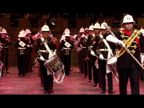 Massed Bands of H.Ms Royal Marines Collingwood and Scotland
