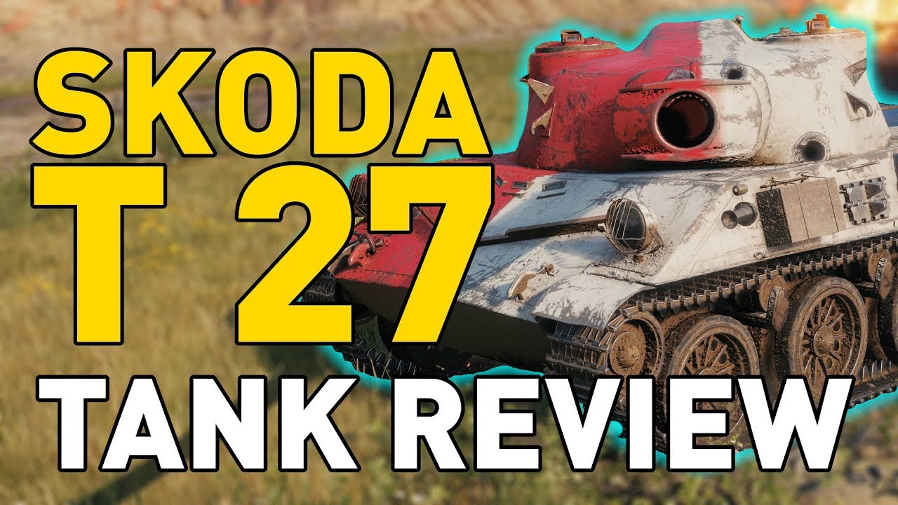World of Tanks    Skoda T 27 - Tank Review