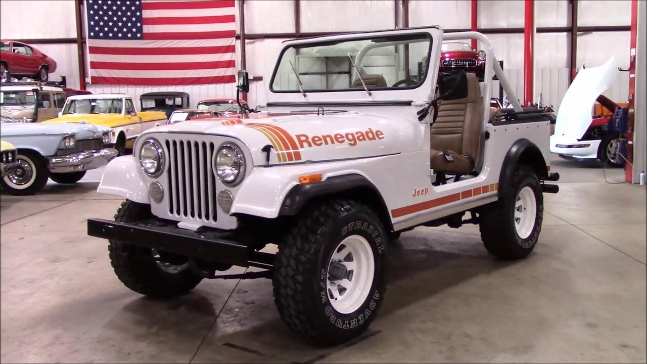 1980 jeep cj 7 renegade white [ 1280 x 720 Pixel ]