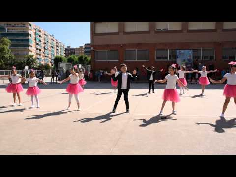 BAILE COLEGIO RAFAEL CASANOVA (BADALONA) 20-06-2015 (SUMMER NIGHTS - GREASE)