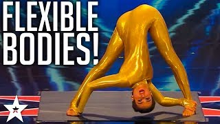 TOP 7 Best Contortionists WORLDWIDE on Got Talent Global thumbnail