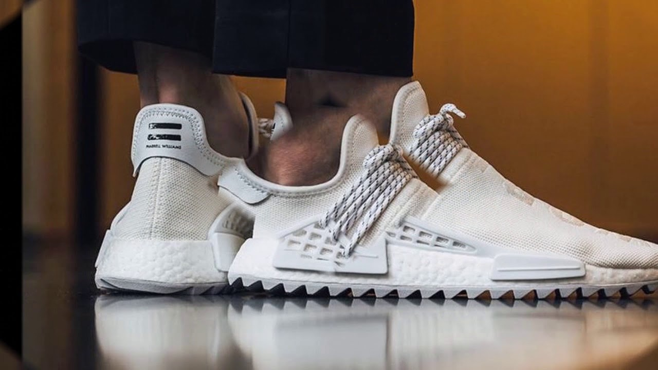 aaacdfae81b4d pharrell williams x adidas hu race nmd footwear white footwear white ...