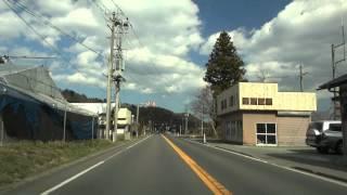 国道115号線 相馬方向 相馬市山上上並木 2012/04/08撮影