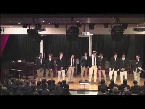 Eaglebrook School Holiday Music Concert 2014 Ad Libs