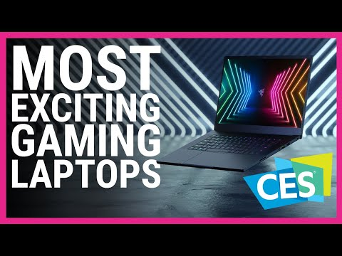 Most Exciting Gaming Laptops of CES 2021
